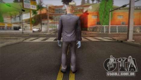 Hoxton From Pay Day 2 v2 para GTA San Andreas segunda tela