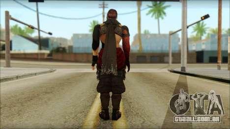 Ryu True Fighter From Dead Or Alive 5 para GTA San Andreas segunda tela