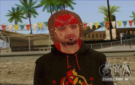 GTA 5 Wade Hebert para GTA San Andreas terceira tela