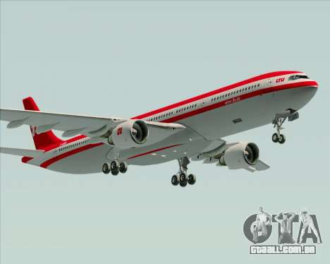 Airbus A330-300 LTU International para o motor de GTA San Andreas