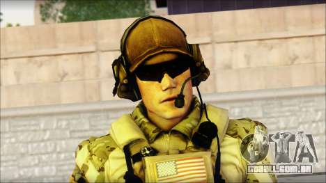 Engineer from BF4 para GTA San Andreas terceira tela