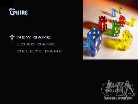 Menu Gambling para GTA San Andreas segunda tela