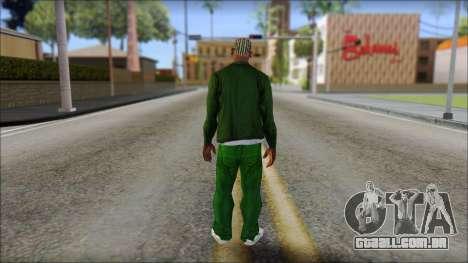 New CJ v1 para GTA San Andreas segunda tela
