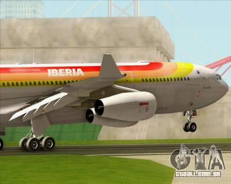 Airbus A340 -313 Iberia para o motor de GTA San Andreas