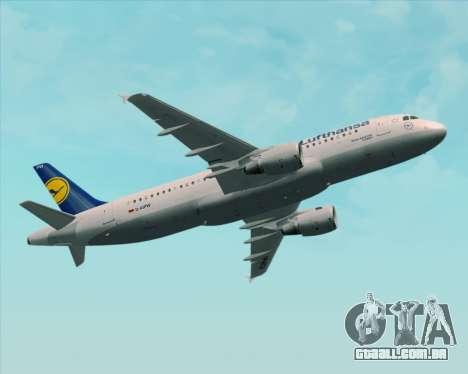 Airbus A320-211 Lufthansa para as rodas de GTA San Andreas