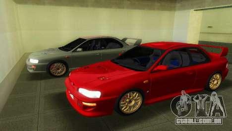 Subaru Impreza WRX STI GC8 22B para GTA Vice City