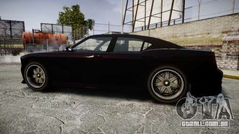 Bravado Buffalo FIB Modified para GTA 4 esquerda vista