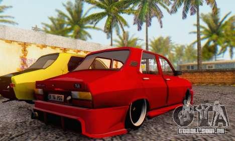 Dacia 1310 TLX PGG v1 para GTA San Andreas traseira esquerda vista