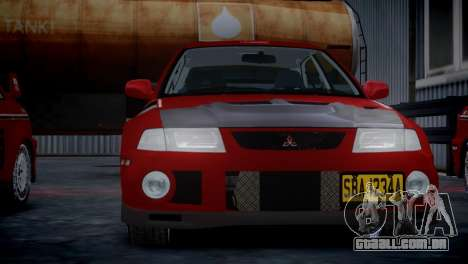 Mitsubishi Lancer Evolution VI Rally para GTA 4