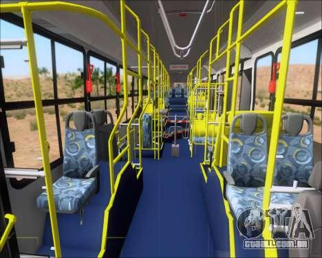 Caio Induscar Millennium BRT Viacao Gato Preto para GTA San Andreas vista inferior