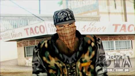 Manhunt Ped 21 para GTA San Andreas terceira tela