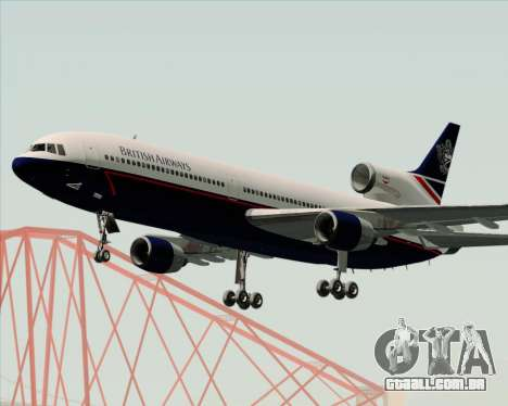 Lockheed L-1011 TriStar British Airways para GTA San Andreas