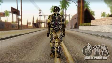 Crew from Dead Space 3 para GTA San Andreas segunda tela
