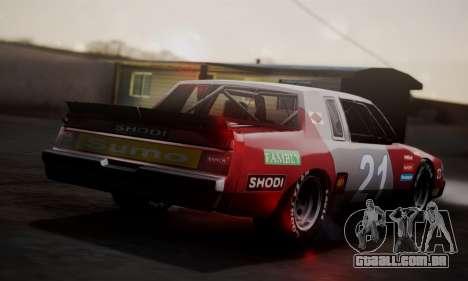 Buick Regal 1983 para GTA San Andreas vista direita