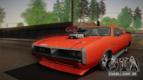 GTA 4 Dukes Tunable para GTA San Andreas traseira esquerda vista