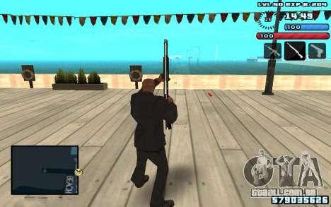C-HUD by SampHack v10 para GTA San Andreas segunda tela