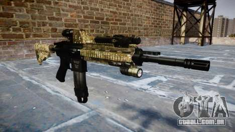Automatic rifle Colt M4A1 devgru para GTA 4