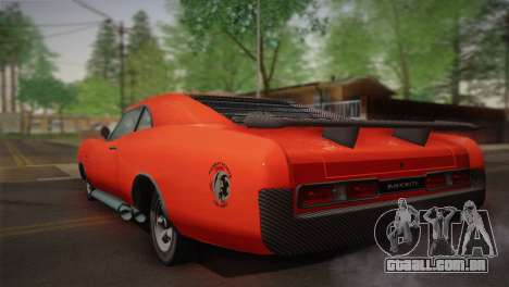 GTA 4 Dukes Tunable para GTA San Andreas vista direita