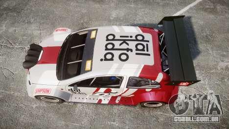 Zenden Cup Dalilfodda para GTA 4 vista direita