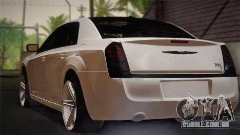 Chrysler 300C 2011 para GTA San Andreas esquerda vista