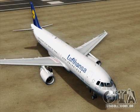 Airbus A320-211 Lufthansa para o motor de GTA San Andreas