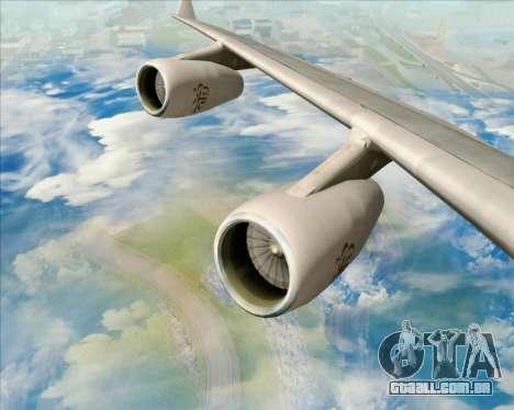 Airbus A340-313 Emirates para o motor de GTA San Andreas