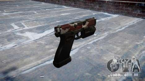 Pistola Glock 20 estão vermelhos para GTA 4 segundo screenshot