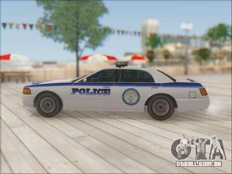 Admiral Police para GTA San Andreas interior