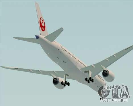Airbus A350-941 Japan Airlines para o motor de GTA San Andreas