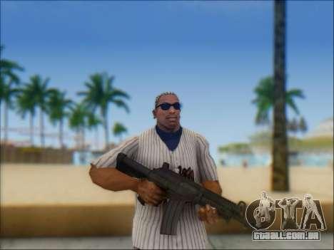 Israelenses carabina ÁS 21 para GTA San Andreas nono tela