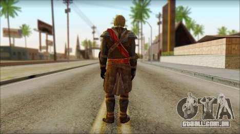 Edward Kenway Assassin Creed 4: Black Flag para GTA San Andreas segunda tela