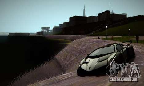 ENB Series by phpa v5 para GTA San Andreas sexta tela