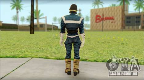 Guardians of the Galaxy Star Lord v1 para GTA San Andreas segunda tela