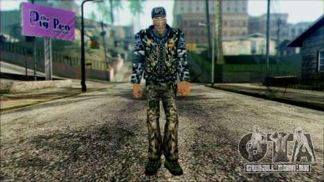 Manhunt Ped 21 para GTA San Andreas