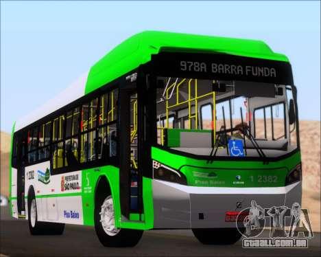 Caio Induscar Millennium BRT Viacao Gato Preto para o motor de GTA San Andreas