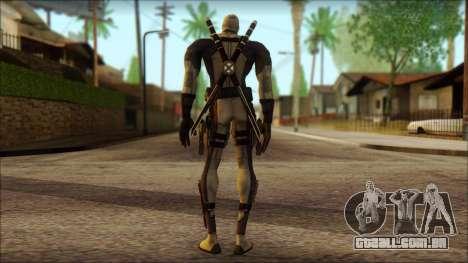 Xforce Deadpool The Game Cable para GTA San Andreas segunda tela