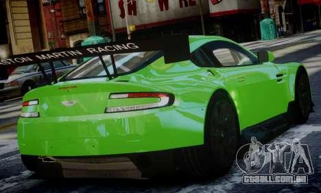 Aston Martin Vantage GTE para GTA 4 esquerda vista