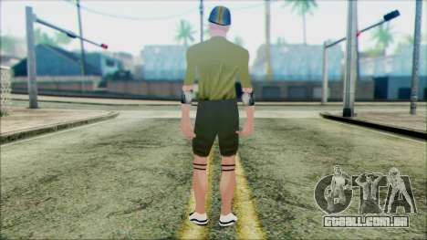 Wmymoun from Beta Version para GTA San Andreas segunda tela