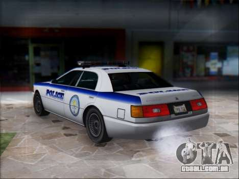 Admiral Police para GTA San Andreas vista direita