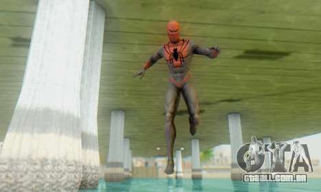 Skin The Amazing Spider Man 2 - Suit Assasin para GTA San Andreas terceira tela