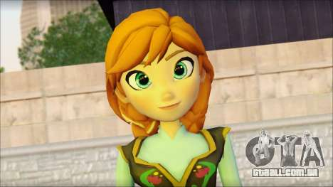 Princess Anna (Frozen) para GTA San Andreas terceira tela