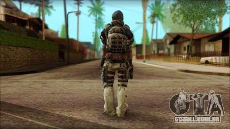 Veterano (M) v2 para GTA San Andreas segunda tela