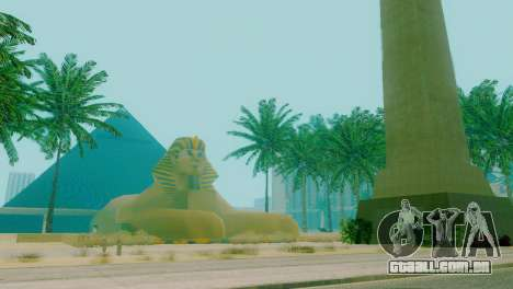 Novas texturas da pirâmide em Las Venturas para GTA San Andreas segunda tela