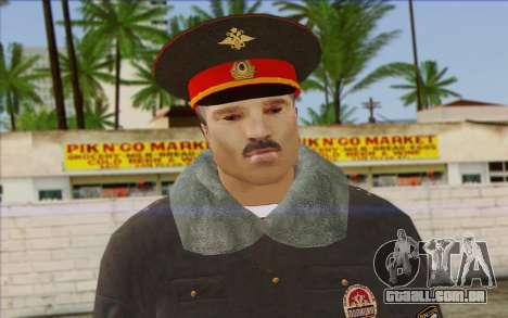 A Polícia Da Rússia Pele 1 para GTA San Andreas terceira tela