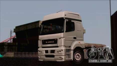 A KamAZ-5490 para GTA San Andreas