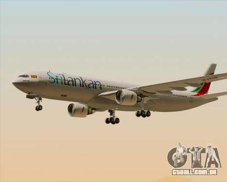 Airbus A330-300 SriLankan Airlines para o motor de GTA San Andreas