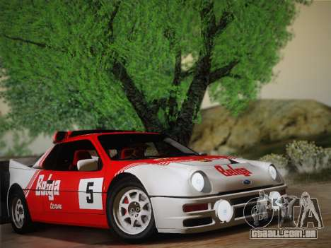 Ford RS200 Evolution 1985 para GTA San Andreas