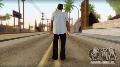 Michael from GTA 5 v4 para GTA San Andreas segunda tela