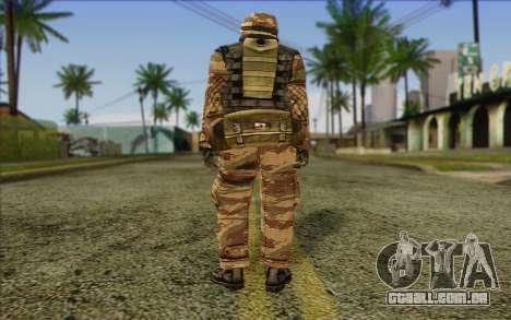 Soldados MEK (Battlefield 2) Pele 6 para GTA San Andreas segunda tela