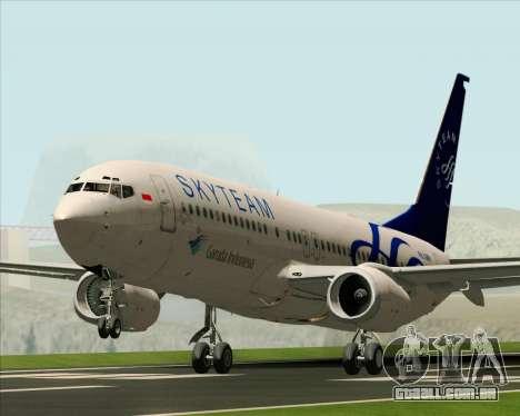 Boeing 737-86N Garuda Indonesia para GTA San Andreas
